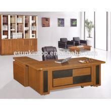 Niza aspecto wenge chapa mesa excuitve, fabricante de muebles de oficina profesional