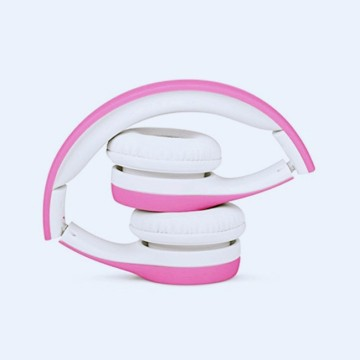 Pink Kids wired melhor Headphone no mercado