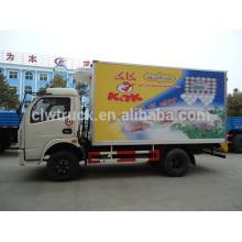 5 ton camiones a la venta, Perú camiones con congelador para la venta