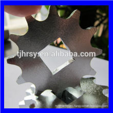 Zinc plated sprocket with square hole