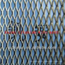 Malla de alambre expandido de titanio de 4,25 mm