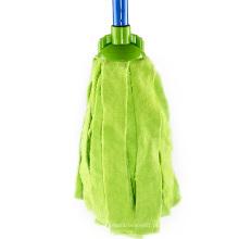 Esverdeie o bom espanador redondo do algodão da limpeza do assoalho do agregado familiar do efeito da limpeza