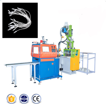Cloth String Seal Hang Tag Injection Moulding Machine