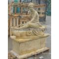 Estatua de piedra tallada tallando la escultura de mármol con la piedra arenisca del granito (SY-X1389)