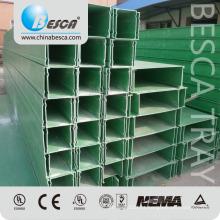 A fibra de vidro de FRP / 304 316 de aço inoxidável / alumínio / galvanizou o padrão do UL do canal do entroncamento do cabo