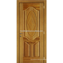 Núcleo oco folheado Carvalho Design agradável laca Natural moldado porta