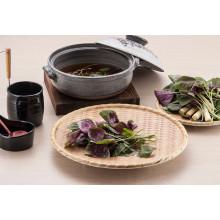Mélamine en bois comme le plat de rectangle / plat de sushi / plat de dîner (NK13811-09)