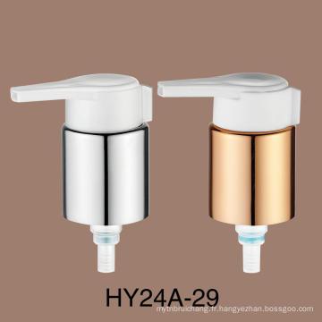 Pompe à crème à sertir en aluminium de 24 mm
