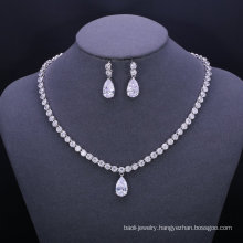 2018 New design zirconia wedding jewelry sets for bridal wholesale online