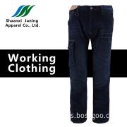 Comfortable Man's Black Long Pants