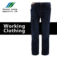 Comfortable Man's Black Long Pants