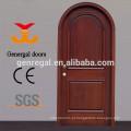 Porta padrão da madeira do arco contínuo da pintura do CE