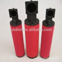 Suministre el elemento del filtro de la tubería 88343371 para el compresor de aire, cartuchos de filtro del conducto 88343371, parte movible del filtro de aire del compresor de aire