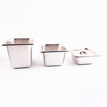 Edelstahl GN-Tischpfanne Hochwertiger Gastronorm-Lebensmittelbehälter