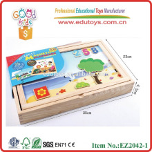 promotional discounts magnetic game OEM Magnet shape game box magnetic writing board EZ2042-1