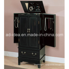 Multifunctional Display Cabinet / Black Exhibition Cabinet/Black Advertising Display Stand