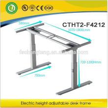 2-Bein-Konsole Alaska Doppel-Linearmotor einstellbar sitzen und Standplatz heben platzsparende Tabelle