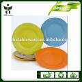Plato de plato biodegradable placa de plato de cena al por mayor barato