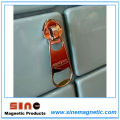 Fashion Zipper Portable Beer Bottle Opener Fridge Magnet