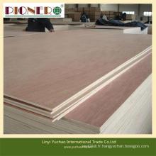 Contreplaqué commercial de haute / moyenne / qualité pour l'emballage de décoration de meubles