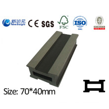 70X40mm PE WPC Joist WPC Keel pour WPC Decking / Bardage Lhma046 avec SGS CE Fsc ISO
