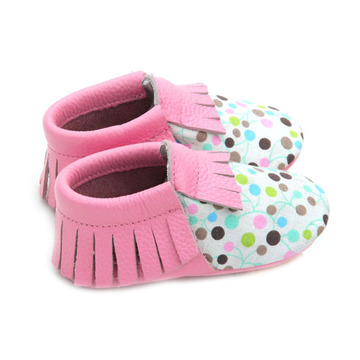 Groothandel Soft Real Leather Baby Moccasins Shoes