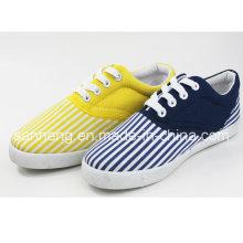 PVC Injection for Women′s Canvas Shoes (SNC-01037)