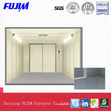 Hairlinestainless Steel Freight Elevator with Vvvf
