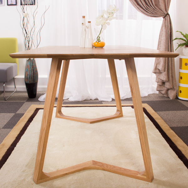 Z type White Oak Dinning Table