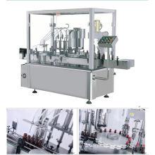 Machine ronde automatique de remplissage et de capsulage de bouteilles
