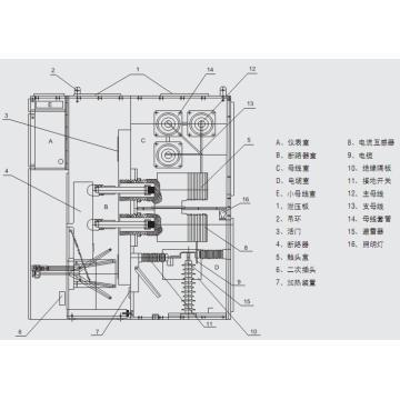저전압 개폐 장치 KYN28A