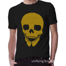 Custom Free Skull Accessories for Rhinestone T-Shirts Wholsale Factory (SP)