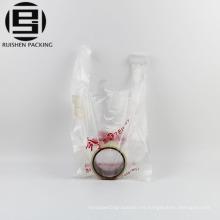 Bolso de plástico del HDPE de empaquetado caliente de la camiseta de la venta
