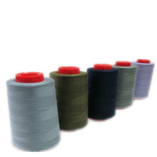 Factory Cheap Price Spun Polyester for Sewing Thread 42/2 5000m Black Thread
