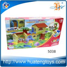Nouvelle maison créative créative enfants jouent et apprennent blocs de jouets