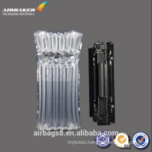 Toner cartridges packaging protective air column bag for mailing industrial use
