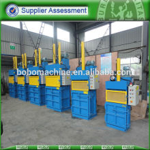 hydraulic plastic bottle compress baler machine