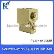 Válvula de expansión del compresor de aire acondicionado para SAAB