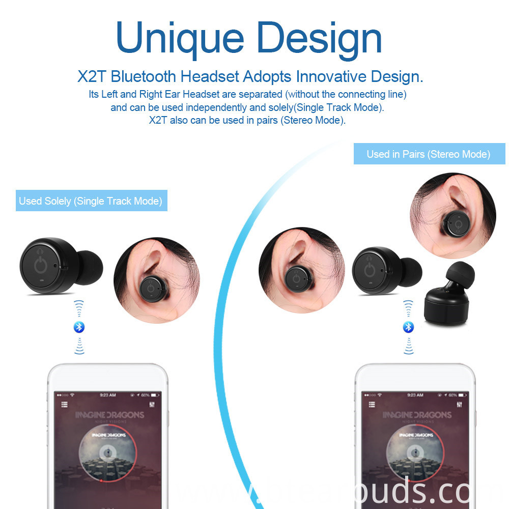 Wireless Bluetooth Earphone2