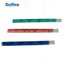 Tyvek Wristband & Id Bracelets, Ткань Браслеты для мероприятий