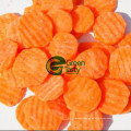 Neue Ernte IQF Frozen Carrot Crinkle in hoher Qualität