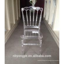 Chaise napoléon à résine végétale de haute qualité