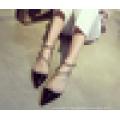 Lady Fashion Rivet Sandal 2016 Chaussures à talons aiguilles Pointe Toe