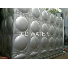 Stainless Steel Sectional Water Tanks / Water Storage Tanks , Square