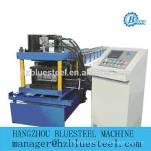Hot Sale CU Profile Acier inoxydable galvanisé en aluminium GI PPGI PDGI Machine à formater des rouleaux de poteaux et de pistes métalliques