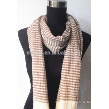 100% хлопчатобумажная пряжа окрашенная шарф