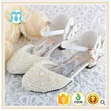 boutique classical party shoes wedding shose beaded pearl shoes