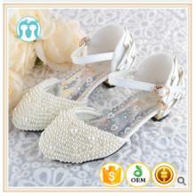 sapatos de festa clássica boutique casamento shose frisado pérola sapatos