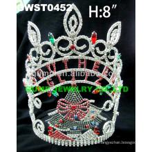 Kundenspezifische weihnachtsbaum tiara und krone