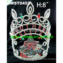 custom Christmas Tree tiara and crown